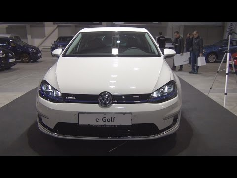 Volkswagen e-Golf PSM Electric (2016) Exterior and Interior in 3D
