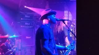 The Wildhearts Blackpool 23.05.19 Sick Of Drugs Filmed Side Stage Waterloo Music Bar Ginger CJ Danny