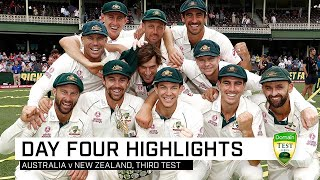 Lyon grabs five as Australia complete perfect summer | Third Domain Test v New Zealand