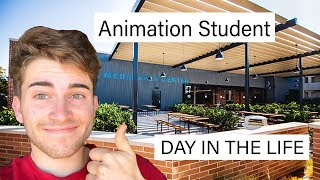 DAY IN THE LIFE ANIMATION STUDENT