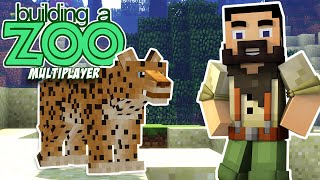 I'm Building A Zoo In Minecraft Again! - Brand New World. Come Join! - EP01