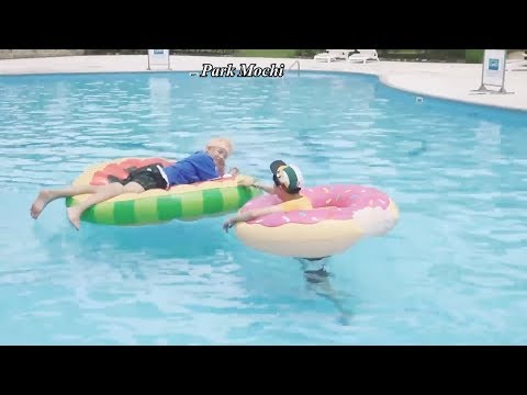 V (김태형 BTS) Innocent and Childish Moments