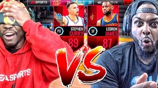 "LOSER HAS TO QUICKSELL ELITE! ""THE REMATCH"" vs AiiRxJONES! NBA Live Mobile 16 Gameplay Ep. 53"