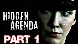 HIDDEN AGENDA Gameplay Walkthrough PART 1 - Ripple Effect (Katie Cassidy)