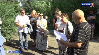 Жители Центрального округа Омска оказались заложниками коммунальной аварии