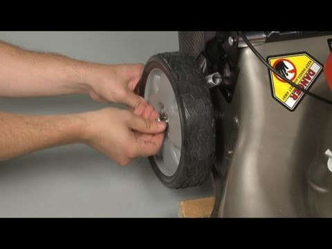 Mower Wheel Replacement Rear Honda Lawn Mower Repair
