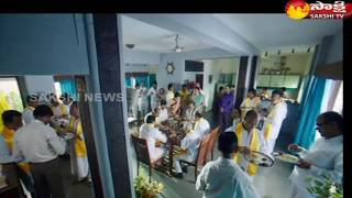 RGV releases Working Still from Lakshmi's NTR..