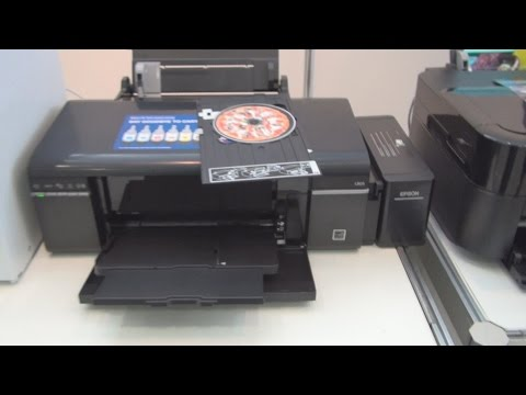 Epson L805 printer review in 3D