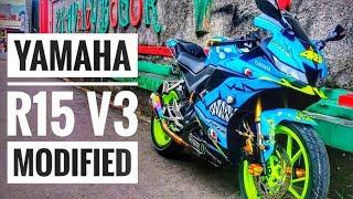Modified New Yamaha R15 V3  0 Vva Tapi Kerenn Videos - mp3toke