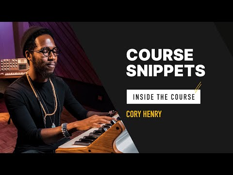 Cory Henry Masterclass Course Snippets | YousicPlays