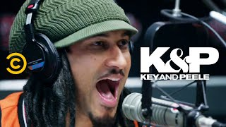 Radio Hosts During the Commercial - Key & Peele