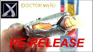 DOCTOR WHO 13th Doctor Sonic Screwdriver Re-Release Toy Review | Votesaxon07