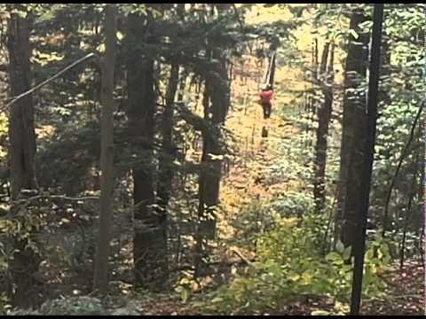 ArborTrek Smugglers' Notch Canopy Tour Build - Week 2