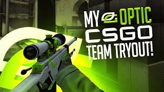 My OpTic CS:GO Team Tryout Video!