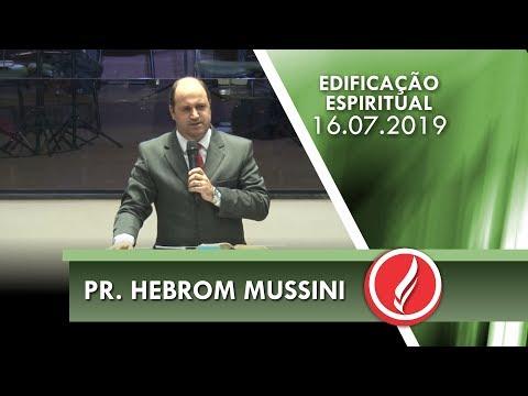 Pr. Hebrom Mussini   A mudança na vida de Naamã   2 Reis 5.1-19   16 07 2019