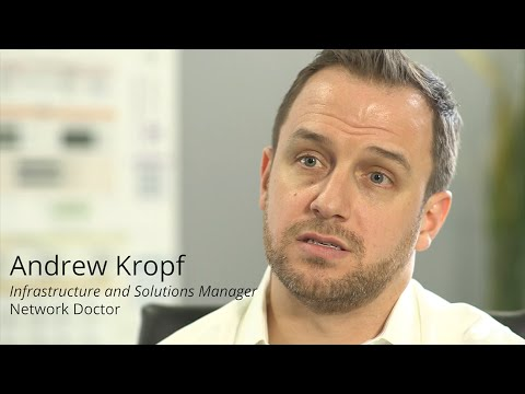 Network Doctor uses Auvik's network infrastructure RMM to drive efficiency