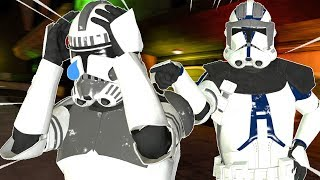 I GOT KICKED OUT OF THE 501st - Gmod Star Wars RP (Annoying People In Jedi Fights)