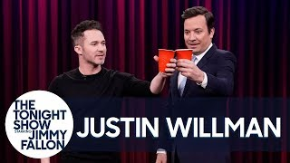 MagicianJustin Willman Teaches Jimmy a Trick to Make Soda Disappear with His Mind