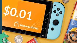 The Nintendo Switch eShop is broken