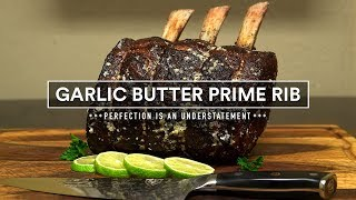 Garlic Butter PRIME RIB ROAST Sous Vide!