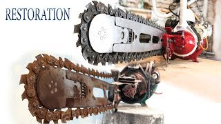 Old soviet chainsaw restoration