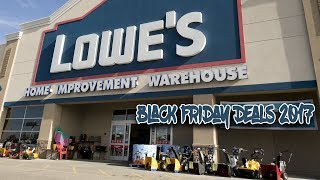 Lowe's 2017 Black Friday: Lowe's Black Friday Ad 2017