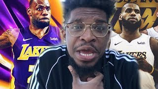 LEBRON JAMES BIGGEST FAN REACTS TO HIM JOINING LAKERS