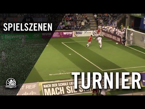1.FC Union Berlin - Iceland Legends (AOK Traditionsmasters, Gruppenphase) - Spielszenen | SPREEKICK.TV