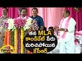 KCR Forgets His MLA Candidate Name; Tactfully Covers Up