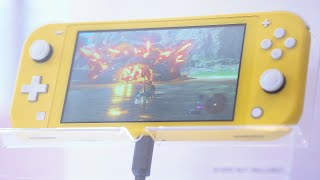 New Nintendo Switch Lite First Look at NYC Event   ALL 3 Launch Colors   Raymond Strazdas