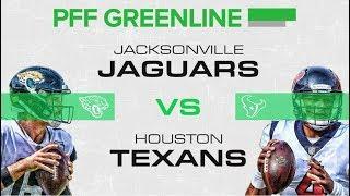 Jaguars vs Texans: PFF Greenline | PFF