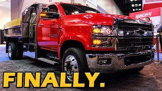 EXTRA Heavy Duty! 2019 Chevrolet Silverado 4500HD