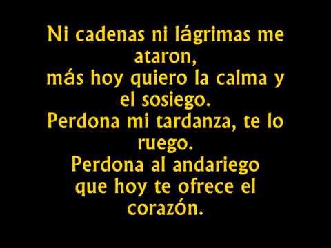 El Andariego de Alvaro Carrillo con versos originales
