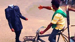 SARKATTA PRANK   Headless man   PRANKS IN INDIA   NatKhat Shady