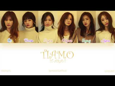 [HAN ROM ENG] T-ara (티아라) - TIAMO (Color Coded Lyrics)
