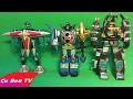 Lắp Ghép ROBOT siêu nhân Gao, ROBOT siêu nhân cuồng phong - Đồ Chơi Trẻ Em ► Cu Ben TV
