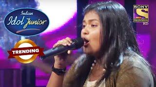Govinda जी हुए इस Performance को देख कर Stun | Indian Idol Junior | Trending