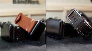 Bezahlbarer Luxus! Leder Armbänder für die Apple Watch von Bandwerk! (Series 5,4,3,2&1) // DEUTSCH