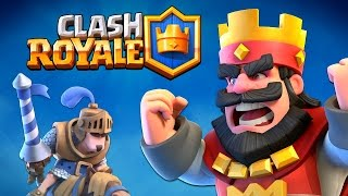 "NEW SUPERCELL Game ""CLASH ROYALE"" Worlds First Gameplay Reveal!"