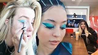 I wore ONLY Euphoria makeup for a week. (MTV meetings, dates) (mortifying)