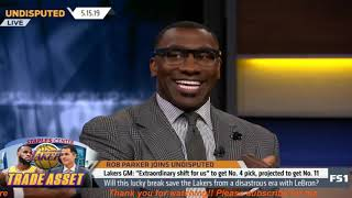 Undisputed | Will this lucky break save Lakers from a disastrous era with LeBron?-Rob Parker DOUBTED