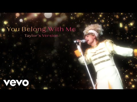 Taylor Swift - You Belong With Me (Taylor's Version) (Lyric Video)