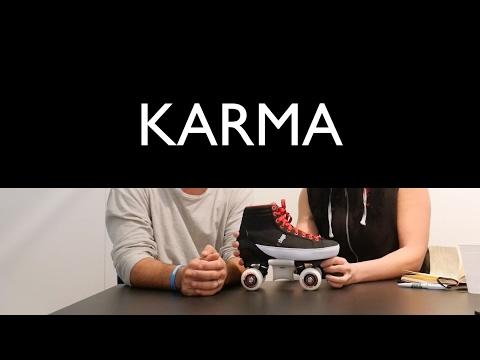 Video CHAYA Roller Quad KARMA PRO Black Red