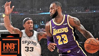 Los Angeles Lakers vs San Antonio Spurs Full Game Highlights | 12.05.2018, NBA Season