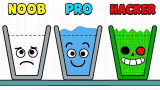 NOOB vs PRO vs HACKER - Happy Glass