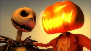 ♫ This is Halloween (3D Minecraft Music Video Animation) Nightmare Before Christmas Cover