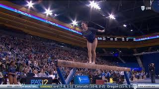 "Felicia ""Fish"" Hano (UCLA) - Balance Beam (9.675) - Ohio State at UCLA 2018"