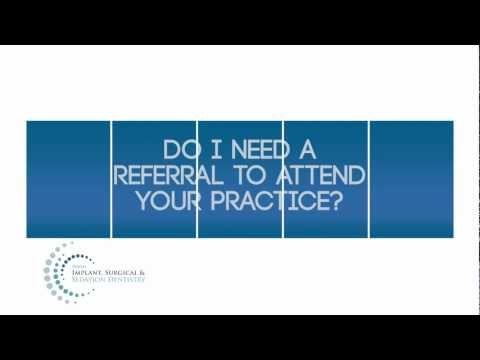 Do you need a referral?