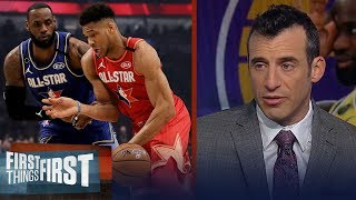 LeBron is more valuable to the franchise than Giannis — Doug Gottlieb | NBA | FIRST THINGS FIRST