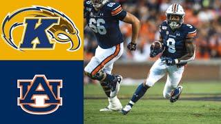 Kent State vs #8 Auburn Highlights | NCAAF Week 3 | College Football Highlights